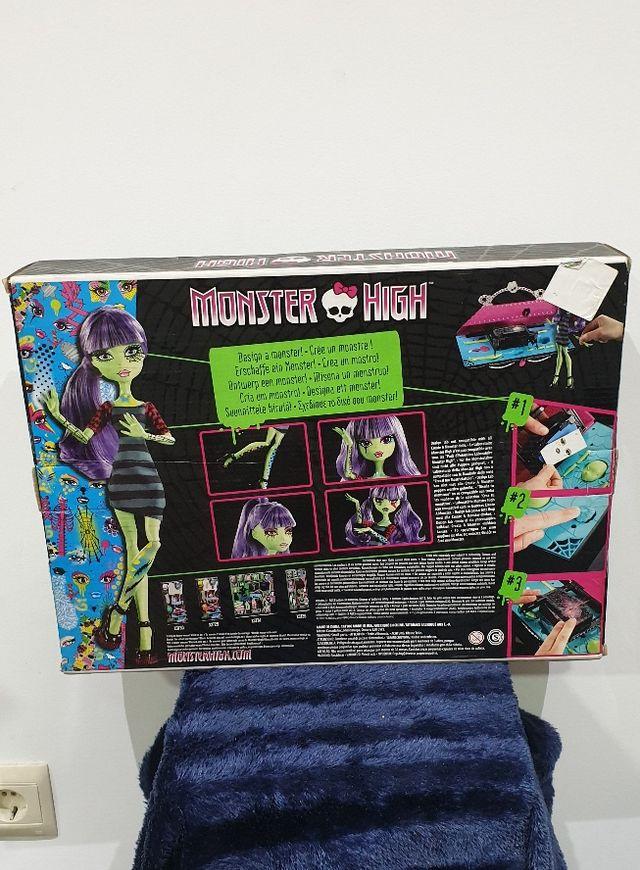 juguete precintado monster high crea un monstruo