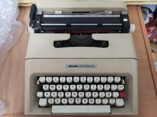 Maquina escribir olivetti lettera 35