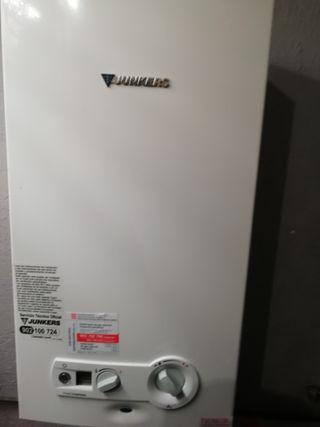 Calentador Junkers electrónico.