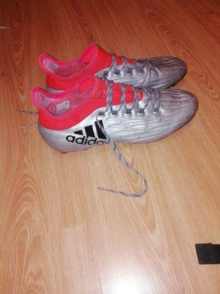 Botas de fútbol talla de segunda mano en madrid en wallapop tobillo talla  cuero jpg 320x427 5034e98f32347