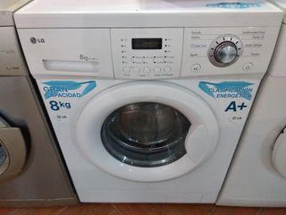 Lavadora Lg 8 K 1000 Rpm A+ GARANTIA Llevo a casa