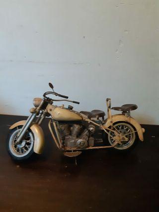 Maqueta moto Harley Dadvison