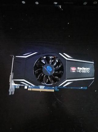 TARJETA GRAFICA Radeon HD 6870 amd