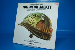 Vinilo disco LP Various Full Metal Jacket -1987