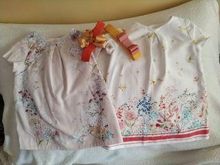 Lote vestidos bebé