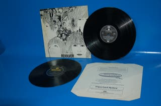 Disco vinilo LP The Beatles Revolver -año 1966