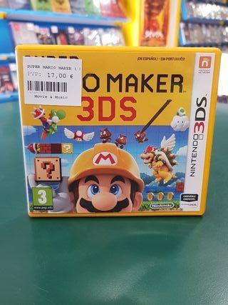 SUPER MAKER 3DS NINTENDO 3DS