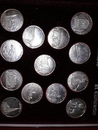 arras asturianas en plata de 1°ley