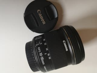 Canon 10-18mm Super wide angle lens