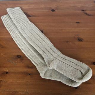 Calcetines lana largos montaña