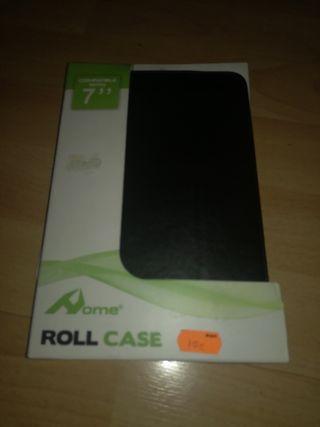 funda tablet compatible 7'' negra a estrena