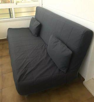 Sofa cama con cajón 130×190