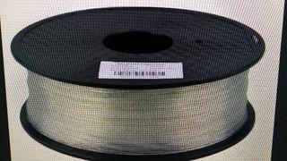 ROLLO PLA TRANSPARENTE 1,75mm 500 gramos o 1 kilo
