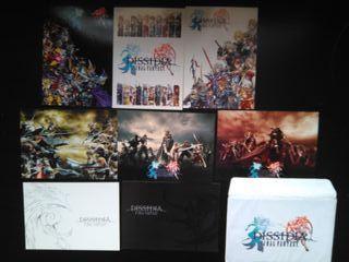 postales final fantasy