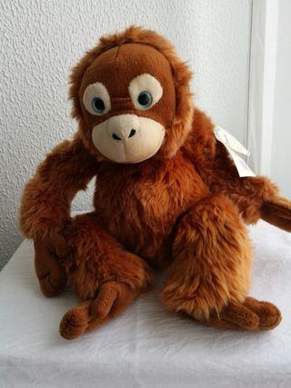 Peluche de Mono, casa trotamundos
