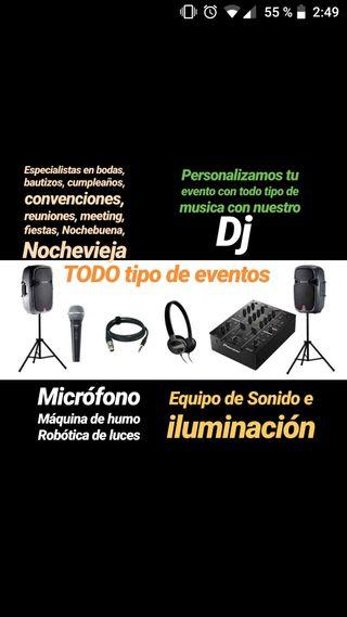 Alquiler Sonido e Iluminación PROFESIONAL