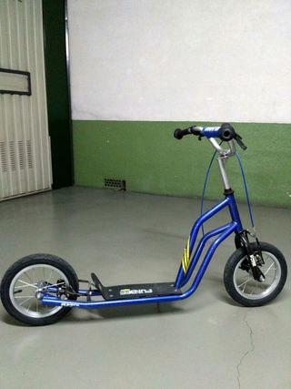 patinete 2 ruedas y frenos