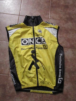 Ciclismo Once Castelli Chaleco Ciclista Windstop