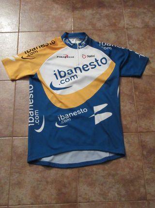 Ciclismo iBanesto Nalini maillot ciclista Banesto