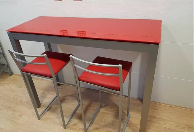 Oferta semana mesa cocina de diseño mobilica de segunda mano por 240 ...