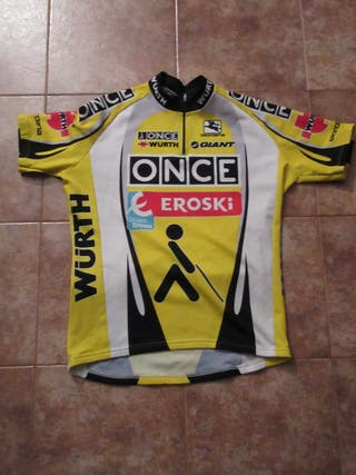 Ciclismo Once Eroski Giordana maillot ciclista