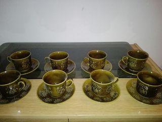 juego café porcelana