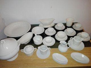 lote vajilla porcelana fina