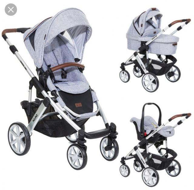 Carrito Bebé 3 Piezas De Segunda Mano Por 290 En Foxas En Wallapop