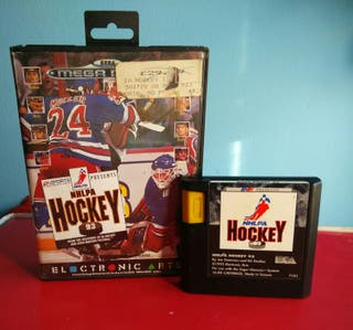 Mega Drive NHLPA Hockey Sin Manual