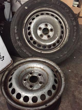 Llantas de chapa de VW T5