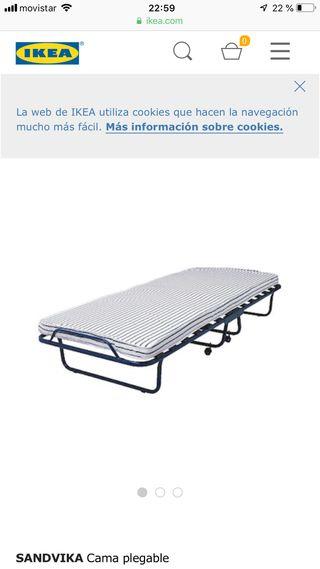 Colchon plegable ikea best ikea slkt estructura de cama for Sandvika ikea