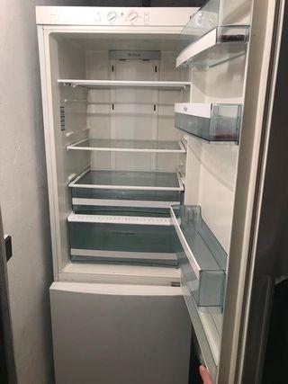 Lavadora + frigorífico grande