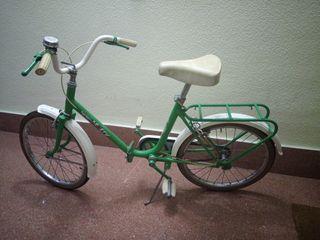 Bicicleta niño antigua GAC ,plegable