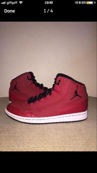 Jordan's x size 7