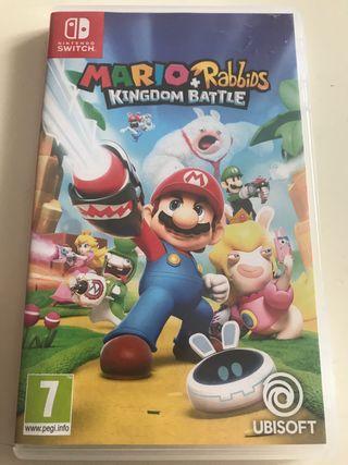 Mario Rabbis para Nintendo switch