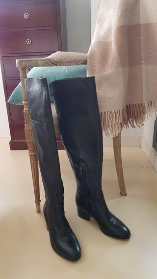 Ralph Lauren botas mosqueteras T 38