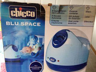 Humidificador de vapor caliente Chicco Blu Space