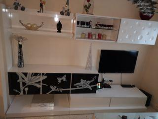 Mueble de Diseño lacado Blanco