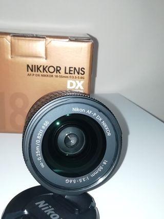 objectivo nikon 18-55 VR