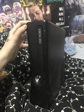 xbox 360 con mando scuf