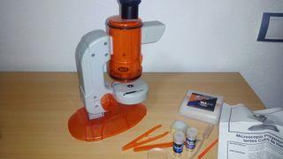 juguete microscopio de juguete