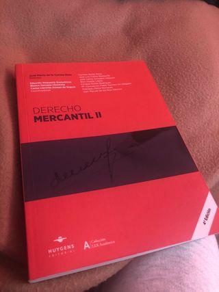 Derecho mercantil ii - 4 edicion