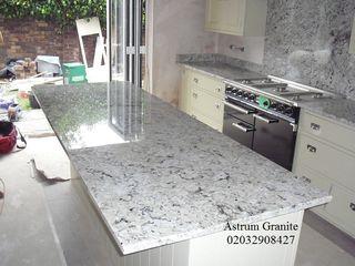 Online Arctic Cream Granite Kitchen Worktop in UK