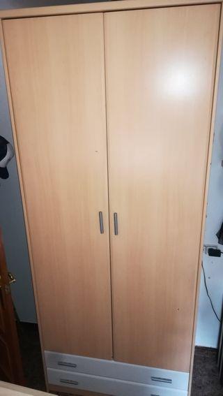 vendo armario dormitorio,dos puertas!!!