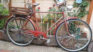 bicicleta antigua orbea freno varillas