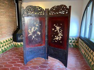 Biombo antiguo original de Japón
