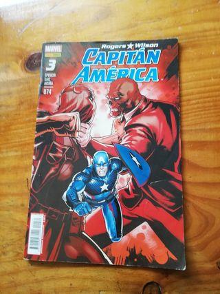 comic Capitan America