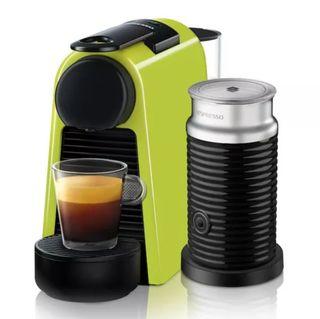 Essenza mini Nespresso + Aeroccino sin abrir
