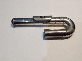 Boca curva para flauta
