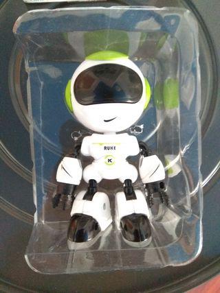 Robot de juguete sin estrenar